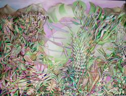 1999 birdsong 190x250cm