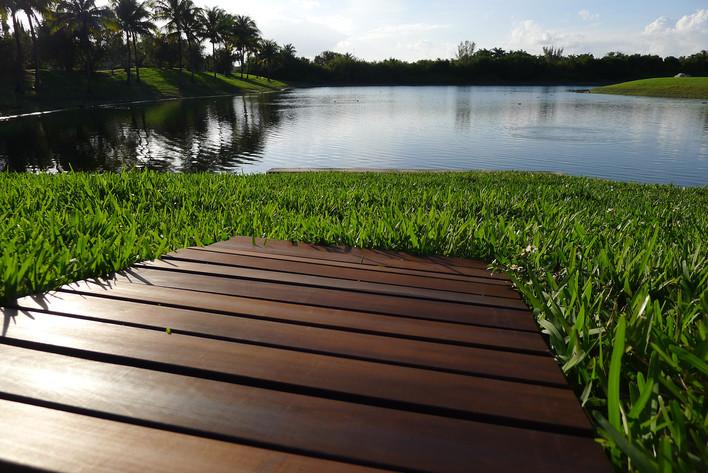 Floor mats - 100% Green