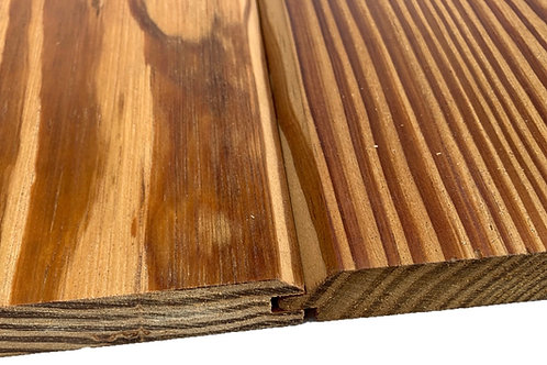 """4-Sides Oiled Thermo-treated SYP WellDone siding T&G profile 7/8""""x5"""""""