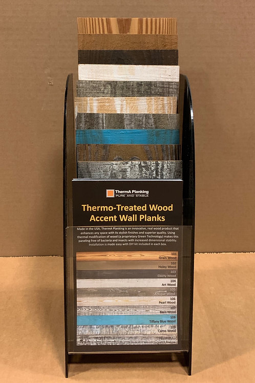 Wall Planks Display