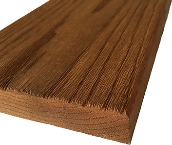 WellDone Thermo-treated wood decking tex