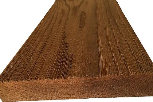 4-Sides Oiled WellDone Thermo-Treated Premium Oak Decking (per LF)