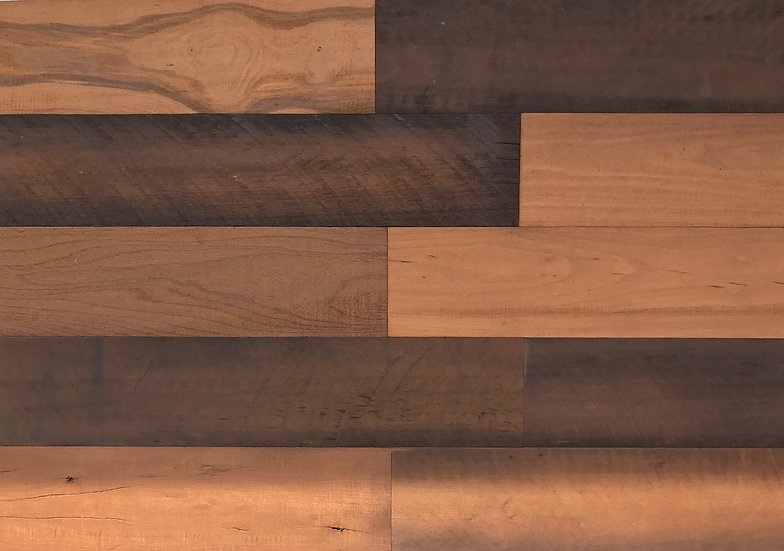 HoleyWood Rustic Wood Wall Planks (10 SF in a Box)