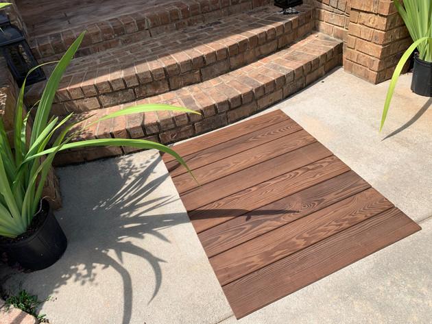Use Roll Floors outdoors