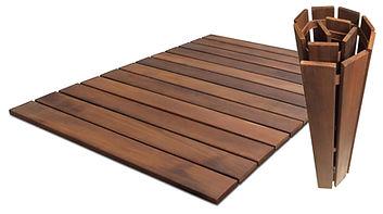 Bathroom mats - camping pad
