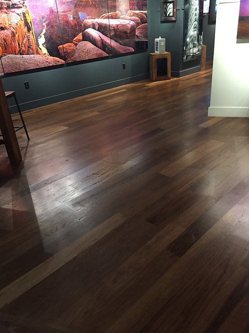 Rustic Grade WellDone Thermo-Treated Elm Flooring (per SF)