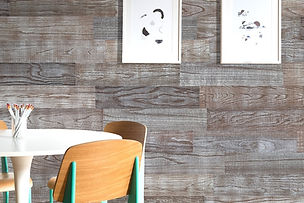 Barn Wood Art: a really beautiful look of whitewashed planks carefully hand made to shine out a grain structure of wood.