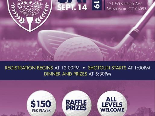 This Saturday:  2019 GoodWorks Golf Classic Tournament
