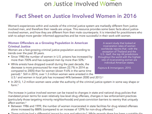 National Resource Center on Justice Involved Women
