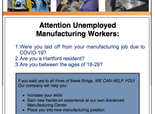 Attention Unemployed Manufacturing Workers!