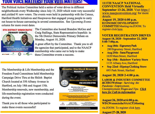 Greater Hartford NAACP Newsletter