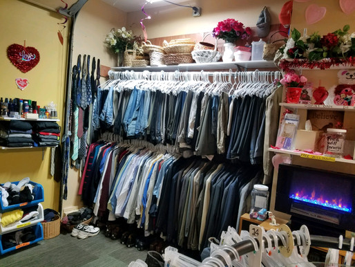 Come Visit Our Closet (Free Clothing)