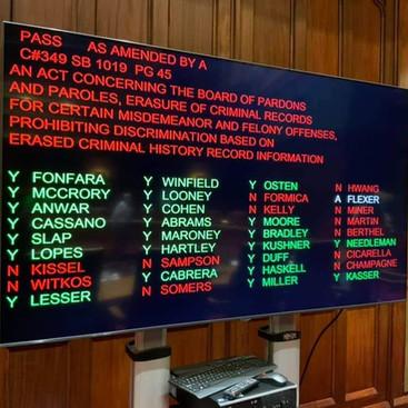 Clean Slate Bill Clears the Senate!