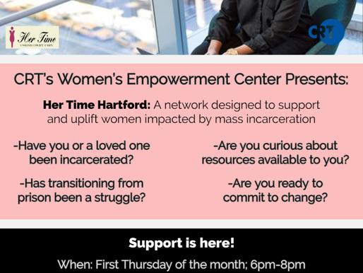 Her Time Hartford Program Offered by CRT