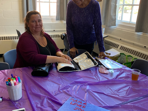 Canvas Painting at South Congregational Church on Saturday