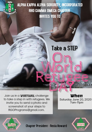 Upcoming Event: Step With Refugees