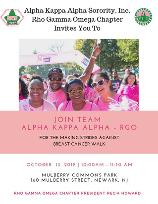 Join Us! - Breast Cancer Walk