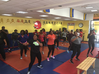 Pink Goes Red 2017: Kickboxing Class
