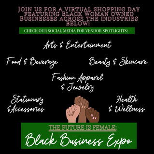 Register Now for The Future is Female: Black Business Expo!