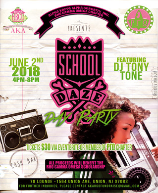 School Daze Day Party: Get Your Tickets TODAY!
