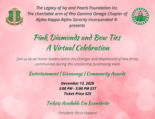 Join Us at Pink Diamonds and Bow Ties: A Virtual Celebration