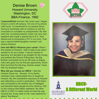 HBCU Spotlight: Denise Brown