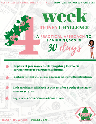 Join the 4 Week Money Challenge with RGO