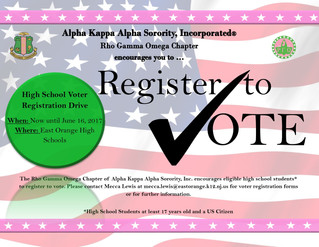 RGO High School Voter Registration Drive