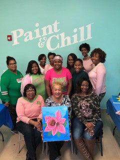 Paint & Chill Mentoring Event