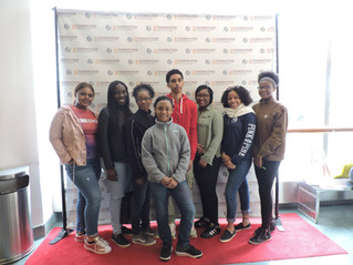 Rho Gamma Omega Takes Local Students  to Schomburg Center in Harlem