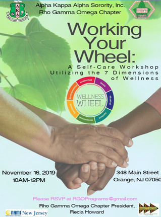Working Your Wheel: A Self-Care Workshop