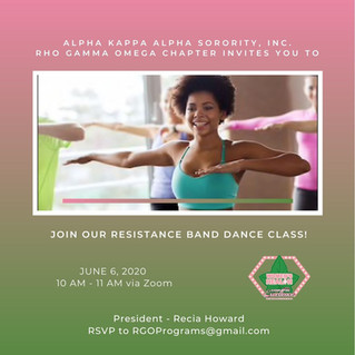 Join our Resistance Band Dance Class!