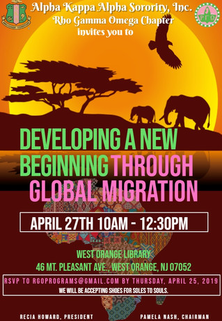 Developing A New Beginning Through Global Migration