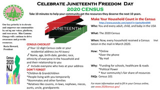 Fill Out the 2020 Census this Juneteenth