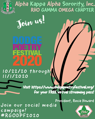 Upcoming Virtual Event: Dodge Poetry Festival 2020