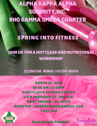 Spring Into Fitness
