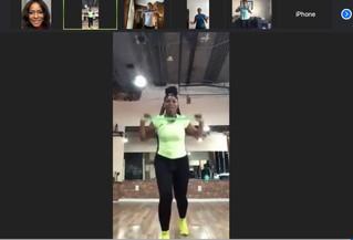 RECAP: Virtual Resistance Bands Dance Class