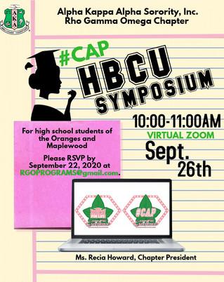 Upcoming Virtual Event: HBCU Symposium