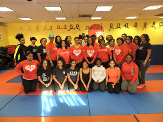 Annual Pink Goes Red- Kickboxing Class