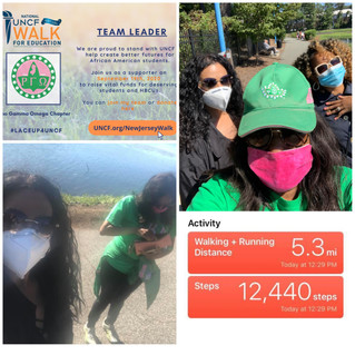 RGO Achieves Goal for UNCF Virtual Walk