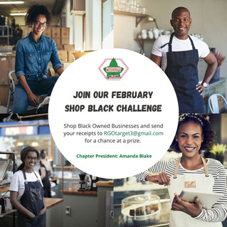 Join Our February Shop Black Challenge!