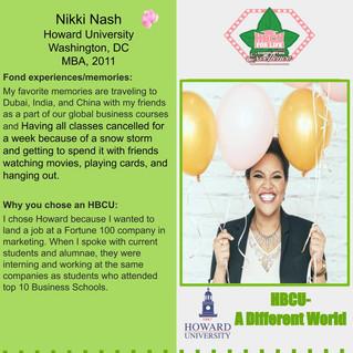 HBCU Spotlight: Nikki Nash