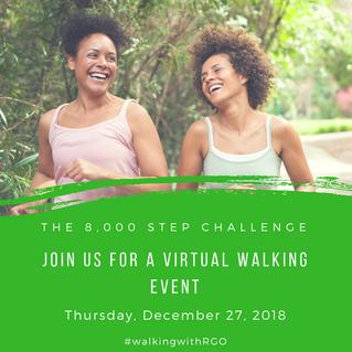8,000 Steps Challenge