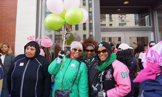 Team AKA-RGO Making Strides Against Breast Cancer