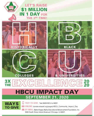 HBCU Impact Day: $1 Million in 1 Day