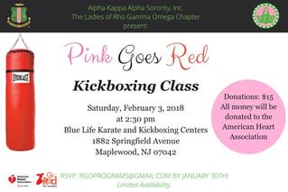 2018 Pink Goes Red Recap