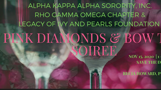 SAVE THE DATE: Pink Diamonds and Bow Ties Soiree