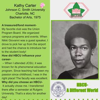 It's A Different World HBCU Spotlight-Kathy Carter