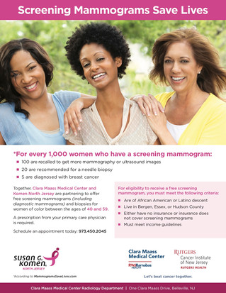 Free Breast Screenings/Mammograms