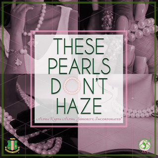 These Pearls Don't Haze